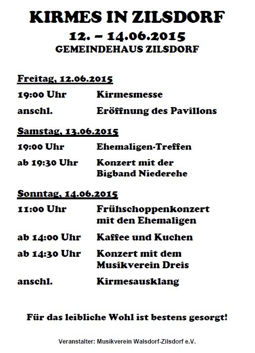 Kirmes in Zilsdorf 2015_plakat