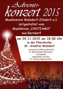 Adventskonzert 2015 Walsdorf
